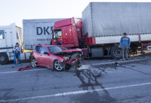 Oregon trucking accident caused by running a stop sign brachial plexus injuries from a trucking accident in oregon modified comparative fault